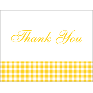 Thank You Card TC-025
