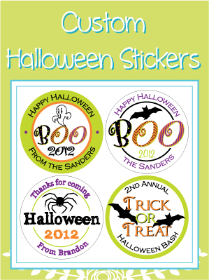 Custom Halloween Stickers