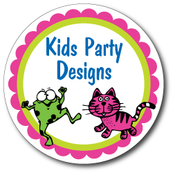 Round Kids Party Designs