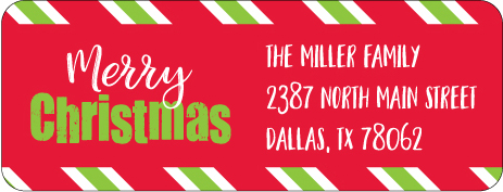 Christmas Address Labels CLB-020