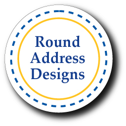 Round Address Designs