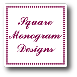 Square Monogram Designs