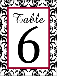 Wedding Table WT-001