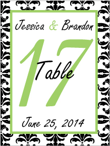 Wedding Table WT-025