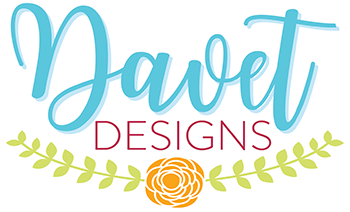 Davet Designs custom stickers