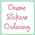Click to purchase onesie stickers